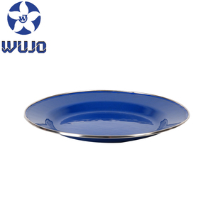 Cheap Dinner Bulk China Enamel Camping Plates
