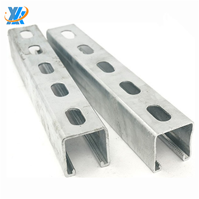 Stainless Steel C Channel/stainless Steel Unistrut Channel/galvanized Steel  C Channel - Buy Stainless Steel U Channel,Stainless Steel Channels Iso C