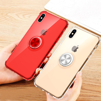 New Design Press Pop-up Elastic Ring Holder Phone Case Cover For Iphone x xr xs max 6 7 8 plus