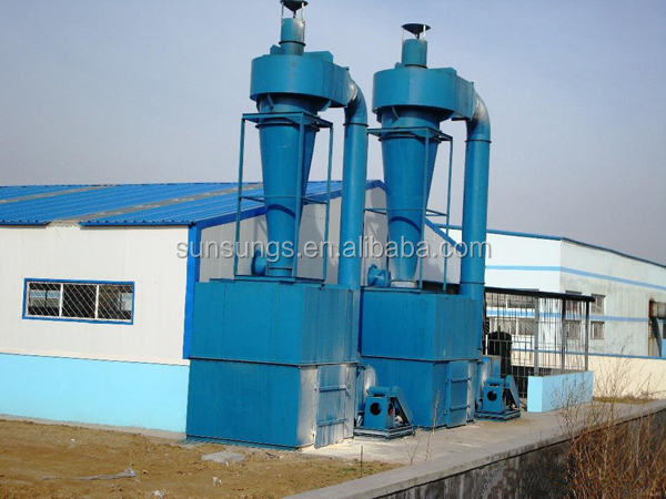XP Type Industrial Air Duct Cleaning Equipment Cyclone Dust Collector Cyclone Separator