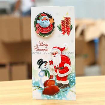 Christmas Cards Handmade.Diy 3d Christmas Cards Handmade Card Making Postcard Greeting Card Buy Greeting Card Folding Handmade Card Blessing Cards Product On Alibaba Com
