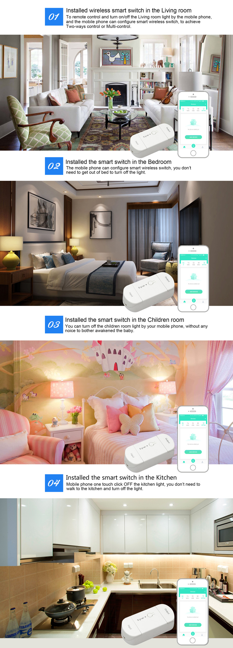 Remote control smart home wifi electrical switch 1Year warranty timer switch enabled Alexa Echo