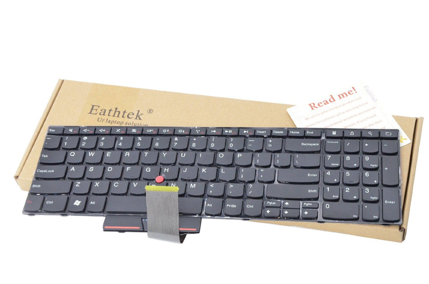 04W0872 04W0836 04W2236 0A62039 41SM0R 0A62075 New Laptop Keyboard with trackpoint for Lenovo IBM Thinkpad Edge E520 E520S E525 Series P//N US Layout Black Color