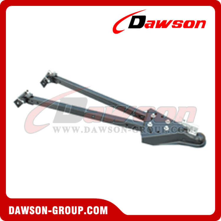 Adjustable trailer coupler tow bar