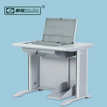 Pengcheng Hidden Lcd Monitor Metal Frame Fold Up Lots Computer Desk
