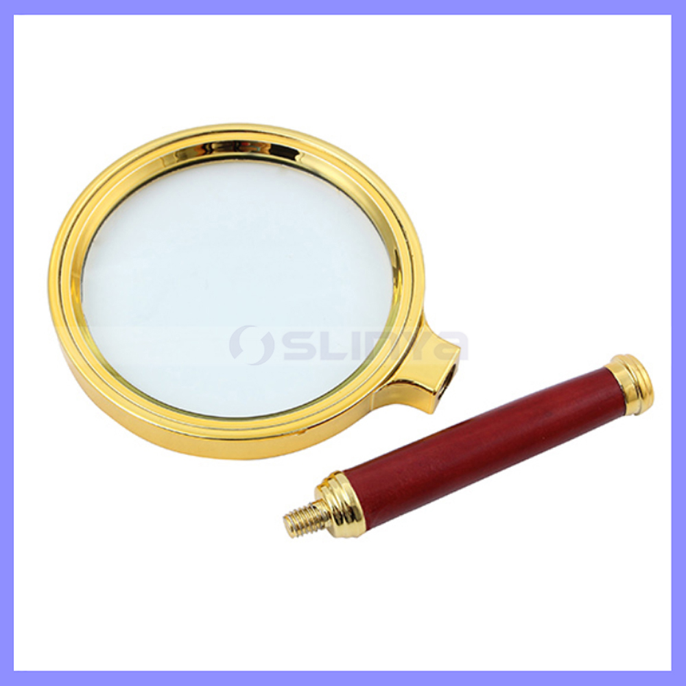 High Hardness Glass 8cm Diameter 10X Handhold Magnifier