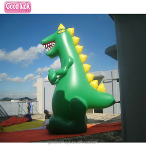 Cartoon Inflatable dragon Animal Model / Custom Advertising Inflatable T-rex / Promotion Inflatable Dinosaur