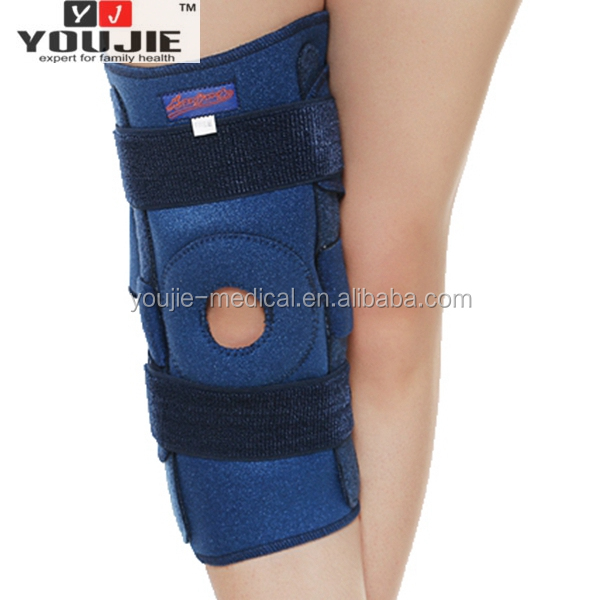 Healthy adjustable neoprene orthopedic knee brace