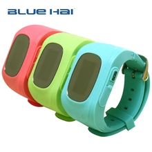 2017 Fashion GPS Tracker Children Kids Smart Watch Q50 With SIM Card Slot SOS Phone Call For Children