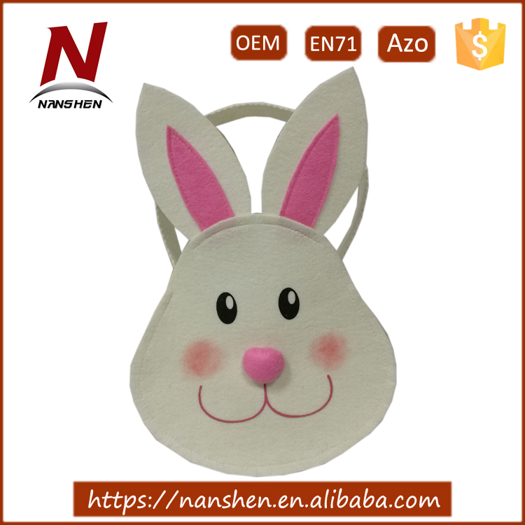 nonwoven fabric easter bunny basket wholesale easter baskets
