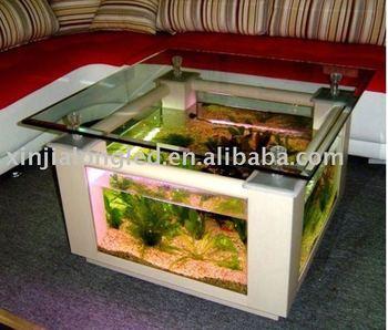 Table Basse Carree En Acrylique Aquarium Buy Table Basse