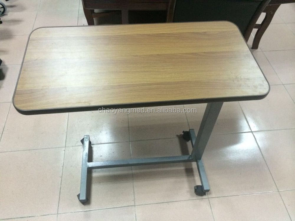 hospital bed table with drawer,used hospital bed dining table