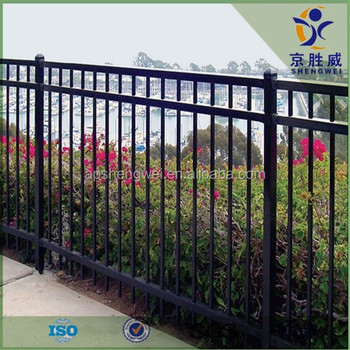 Flat Top Powder Coated Steel Terrace Railing For Sale(factory Price)