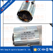 Noblift CL12-Series Electric Stackers Applying 24V 2KW Hydro-Tek Geared DC Motor N2024 Guangan Code A.D.05.01.1124020