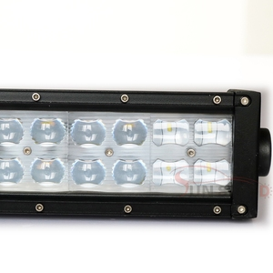 POP!22 inch 12 volt double rows reverse led light bar with roof mounted brackets