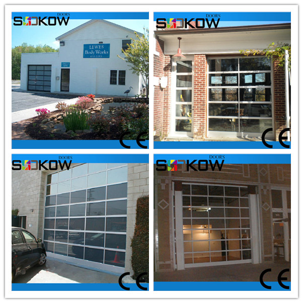 9x7 Insulated Frosted Glass Insert Garage Door - Buy 9x7 Glass ...