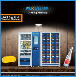 New Product Automatic Touch Screen Cigarette Condom Snack Vending Machine