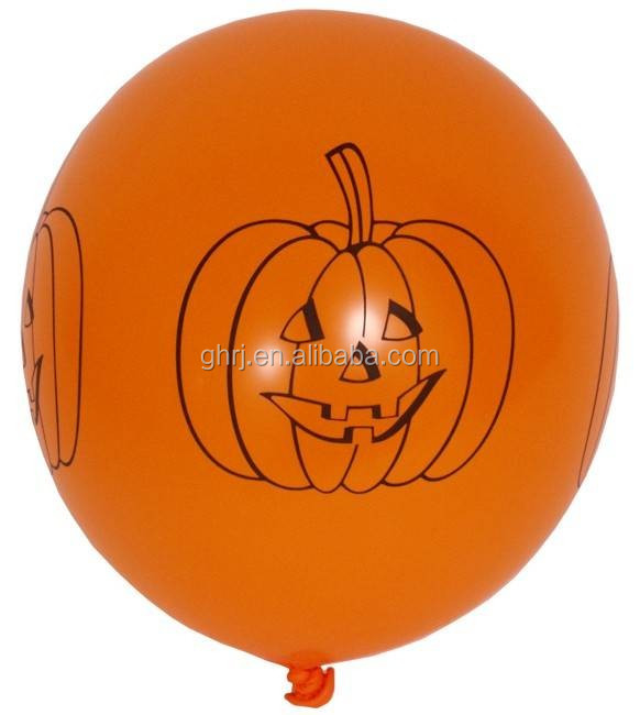 Party Decoration Event & Party Item Type and Halloween Occasion printed latex balloon