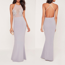 latest fashion design party morden sexy one piece long free prom dresses