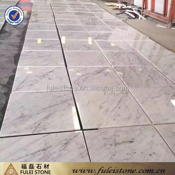 bianco carrara white marble flooring tiles for home & hotel