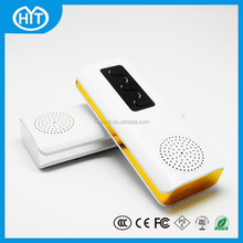 Portable Multi-function Stereo Bluetooth Speaker with Power Bank for Smart Phones / PC / MP3 / MP4, Support FM Radio / TF Card