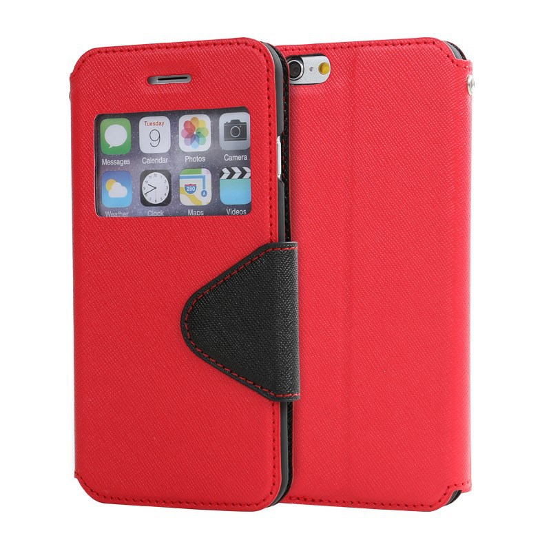 LZB high quality pu leather flip cell phone cover for Micromax Canvas FIRE A104