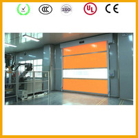 Automatic stainless steel fast Rolling door Low price