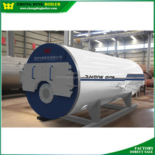 10ton WNS oil&gas fired steam boiler price ,natural gas furnace burner