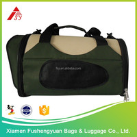 Hot selling custom 600D polyester folding dog carrier / pet cage