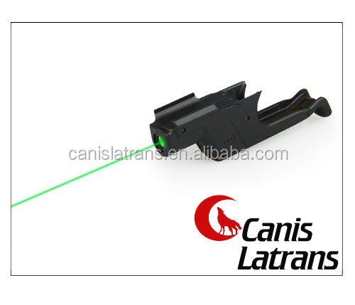 airsoft tactical 10mW Green laser sight/laser pointer/laser aimer fit G17 for hunting CL20-0033