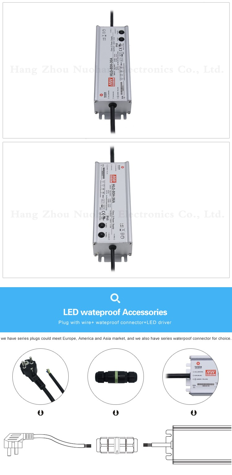 Mean Well Hlg 80h 36a Waterproof Power Supply 80w Constant Voltage Switching Wiring On Meanwell Diagram
