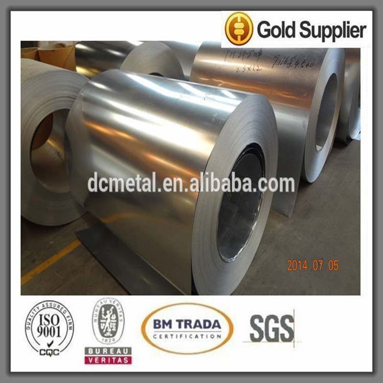 Trade Assurance galvanized steel coil/chromated or spangle gi steel coils/galvanized coil bao steel