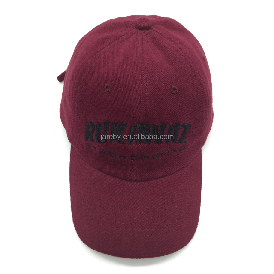 fashion adjustable sport baseball cap custom unstructured dad hat