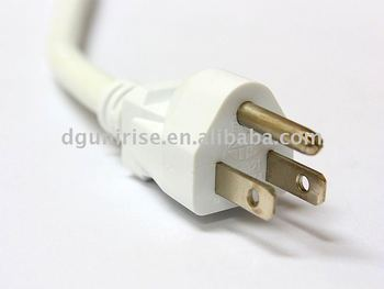 Ul Refrigerator Power Cable Power Cord Plug
