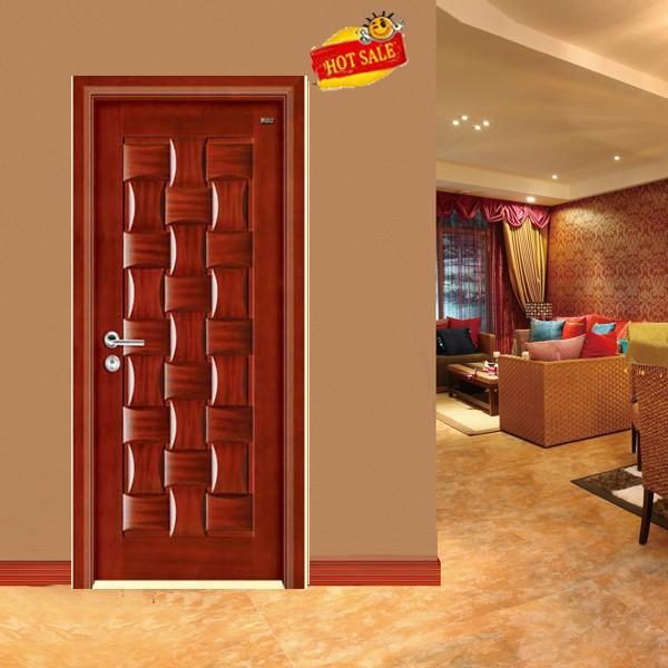 Puertas de madera para casa dos puertas en l instalacin for Modelos de puertas de madera para exteriores