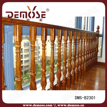 Indoor Wood Railing Designs In Balcony Used Fencing For