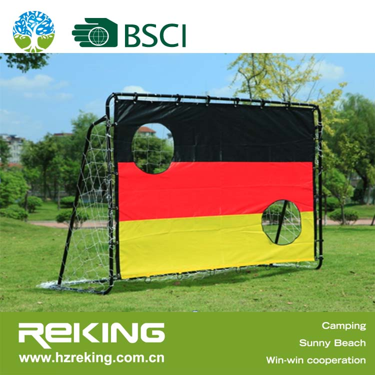 Luxurious Metal Football Goal Training Soccer Goal