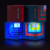 Private Mould Mini Portable LED Color Changing Speaker HiFi Cubic Rainbow Speaker