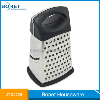 KTG0036 Best Selling 4 In 1 Kitchen Box Grater