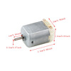 rc high torque 5 6 v 4 volt electronics 5v 6v 4.5v USB powered wind up toy dc motor for toy car motors specifications