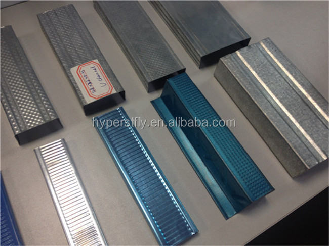 Suspended Ceiling Light Steel Keel/ Steel C Channel Profile/good Construction Material
