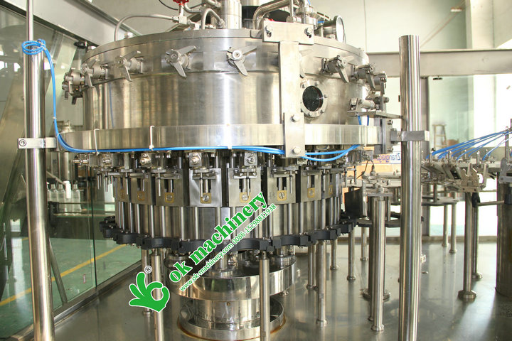 full automatic high efficiency carbonated cola drinks filling machine