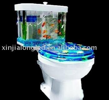 Closestool Aquarium Im Badezimmer - Buy Closestool  Aquarium,Closestool,Aquarium Product on Alibaba.com