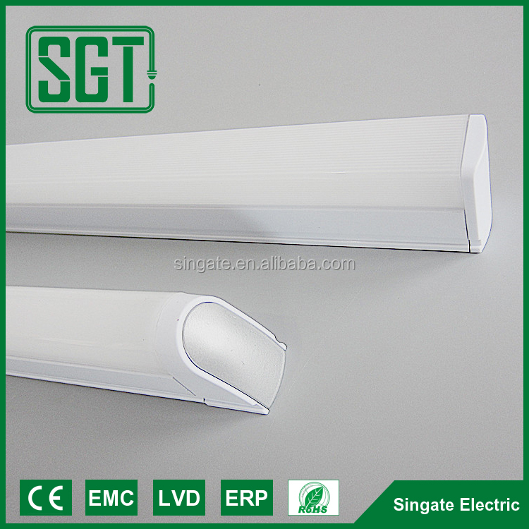 Free sample tube 5 led light easy istall led tube t5 4w 9w 18w 20w EPISTAR chips T5 LED Tube