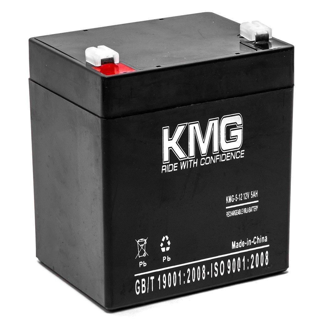 KMG 12V 5Ah Replacement Battery for Rhino Batteries SLA4-12 SLA5-12 SLA5-12-T25