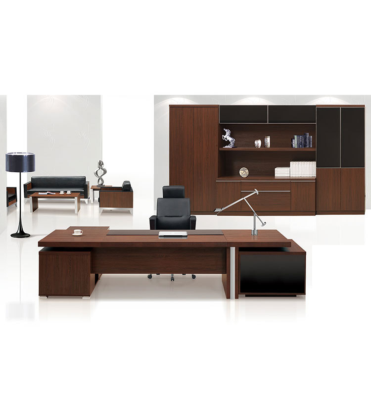wood office cabinet. High Quality New Design Manager Used Executive Office Table Modern Wood Desk Cabinet A