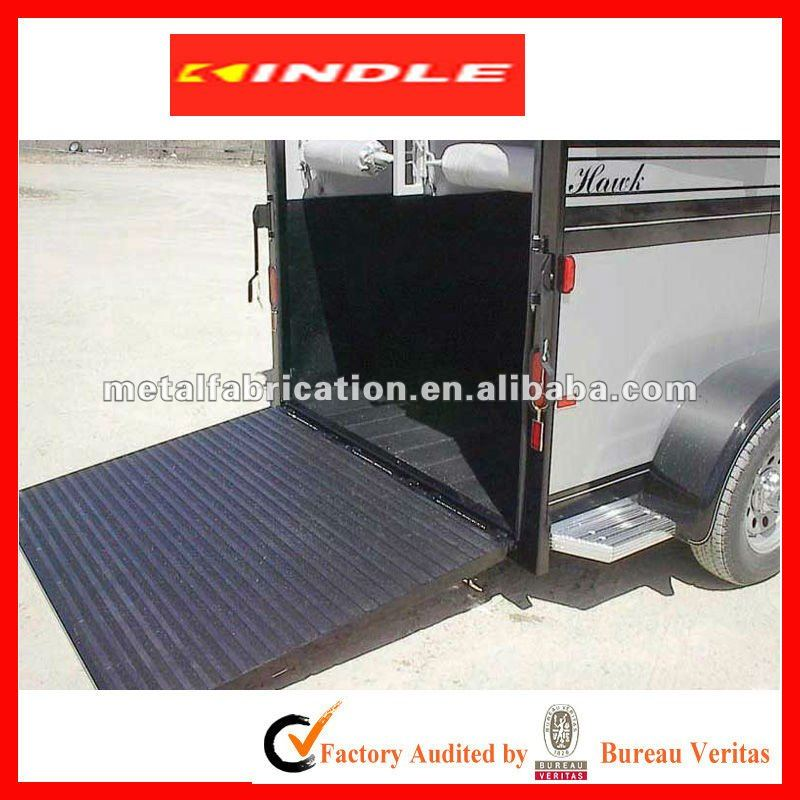 Ramp for horse trailer