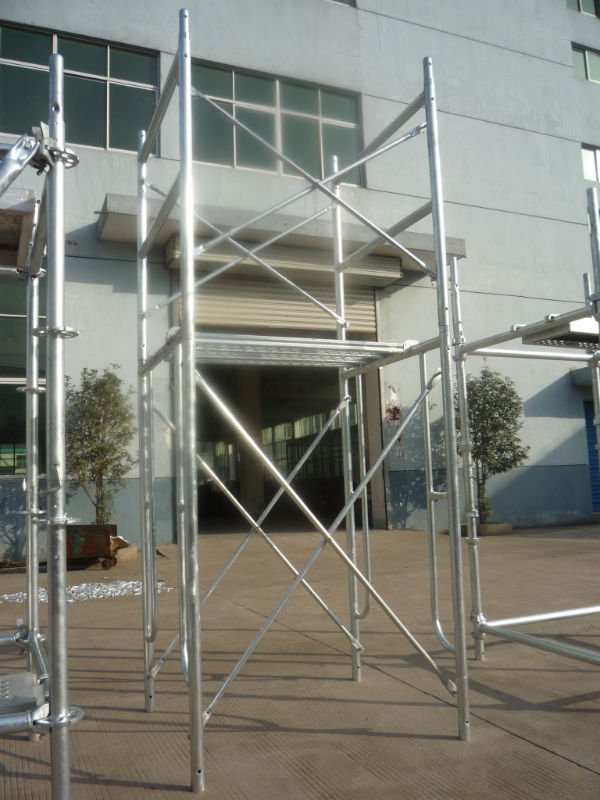 Frame Scaffold System With Economical Design