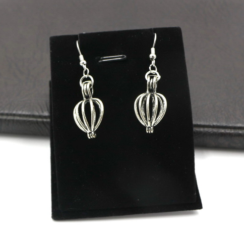 JOJO fashion sample silver plated balloon novelty earring