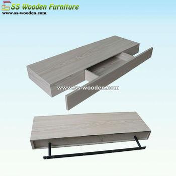 Zwevende Wandplank Met Lade.Decoratieve Meubels Drijvende Wandplank Met Lade Ws 80268 Buy Drijvende Plank Met Lade Wandplank Met Lade De Muur Gemonteerde Plank Met Lade Product